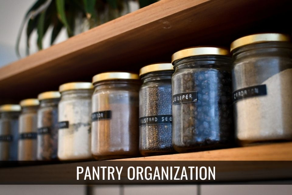 Organize Your Pantry